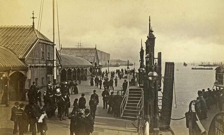Albert Dock-1885