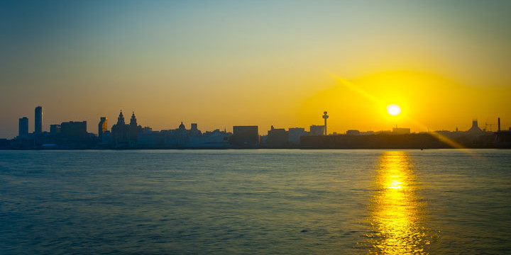 Liverpool-skyline-sunrise