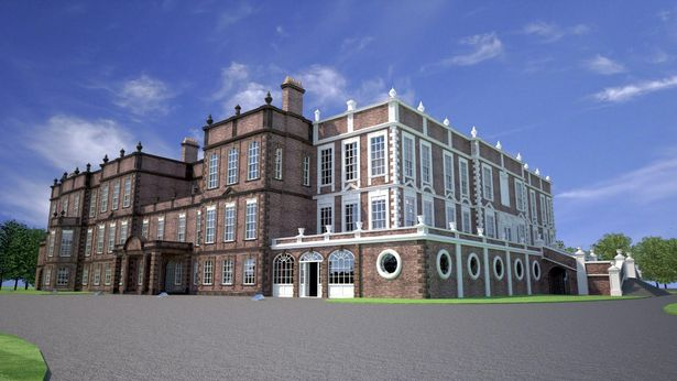 Croxteth Hall CGI plan
