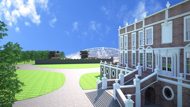 Croxteth Hall plan