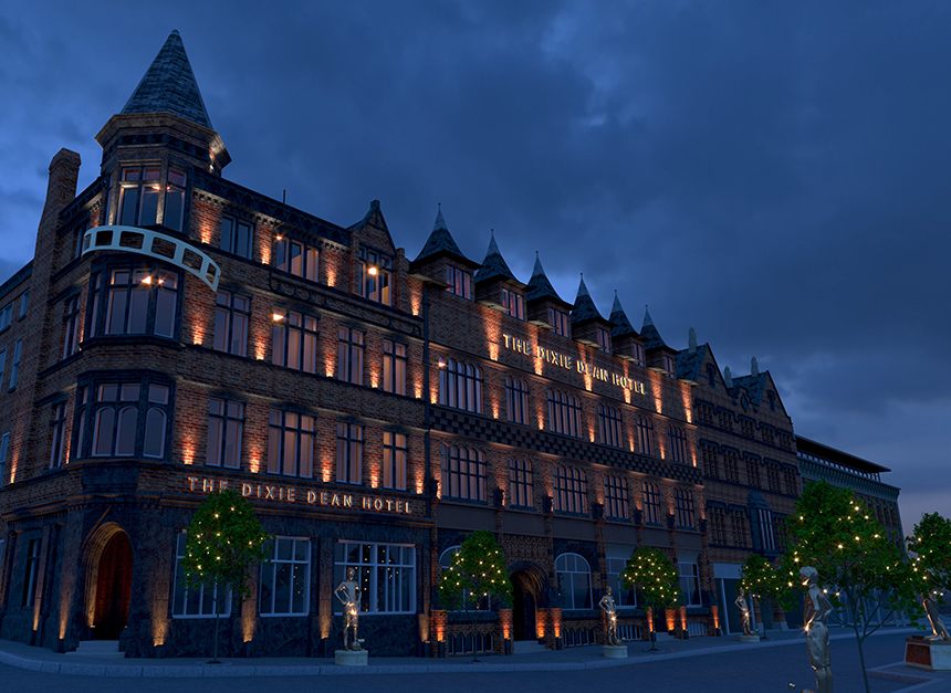 Dixie Dean Hotel in Liverpool - Lawrence Kenwright