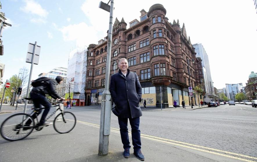 LK Belfast Kelvin Boyes Press Eye