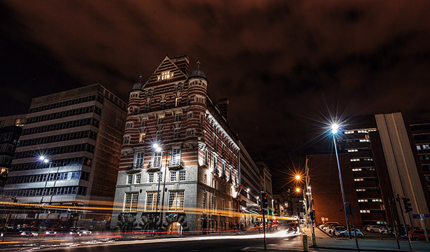 30 James Street at Night