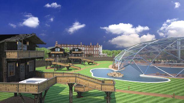 Croxteth Hall plans